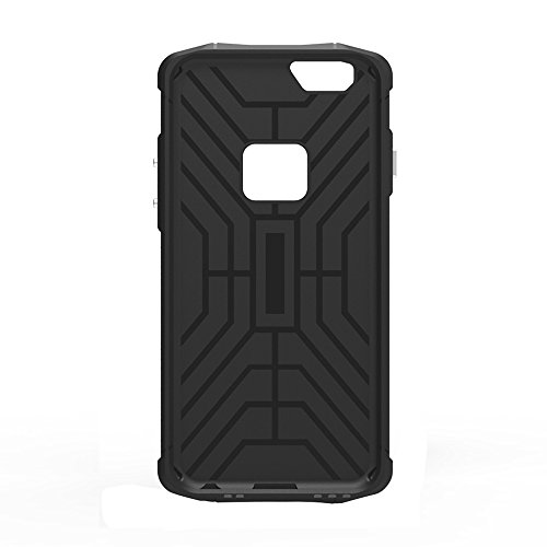 Protege tu iPhone, Para el iPhone 6 Plus y 6s más TPU + Caja de combinación de la armadura del acero de la PC Para el teléfono celular de Iphone. ( Color : Plateado ) Gris