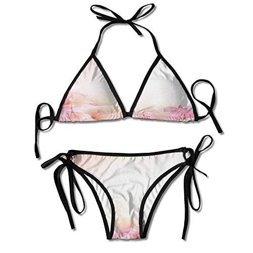Halter Fashion Sexy Bikini,on a Dreamy Backdrop Sexy Bikini 2 Pieces