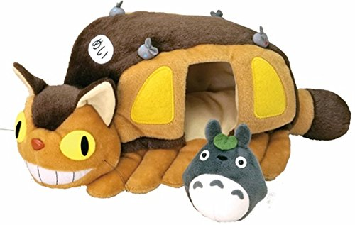 Cat Bus Totoro Costume (Ghibli My Neighbor Totoro cat bus house M From Japan New)