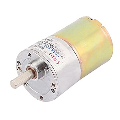 24V DC 500RPM Electric Replacement Magnetic Torque Gear Box Motor