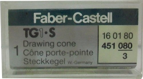 Faber-castell Tg1 - S 0.80mm Drawing Nib/ Cone by Faber-Castell