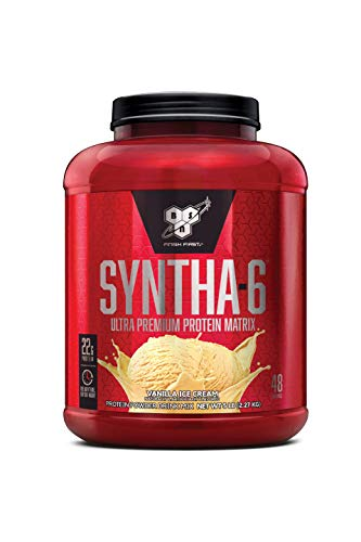 BSN SYNTHA-6 Protein Powder, Vanilla Ice Cream, 80 Ounce