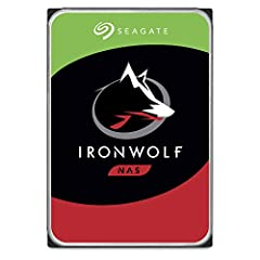 Purpose built for multi-user NAS environments, IronWolf is perfect for teams needing to store more and work faster. Designed for up to 8 bays and featuring 4TB and speeds of up to 180MB/s, these internal hard drives are specifically built for...