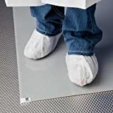 36 x 45 Gray Cleanroom Sticky Floor Mats Clear Peel-Off Sheets, (30 Sheets Per Pad, 8 Pads Per Case) - AC-XCTM3645G
