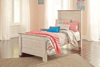 Willowton Twin Panel Footboard by Signature Design by Ashley
