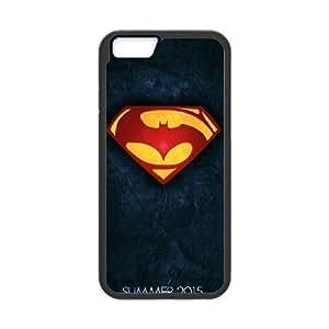 Batman 001 funda de plástico iPhone 6 4.7 pulgadas del teléfono celular de funda funda caja del teléfono celular negro cubre ALILIZHIA09379