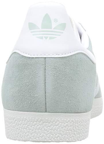 Adidas Para Gimnasia vapour Vapour Gazelle White De Zapatillas crystal Verde Hombre White White ftwr Green wqRgZw