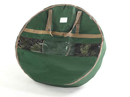 CoverMates – 24 Christmas Wreath Storage Bag – 3 Year Warranty- Green