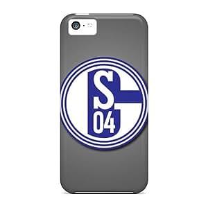 Iphone 5c NXbwpgS7467qqzsE Fc Schalke 04 Tpu Silicone Gel Case Cover. Fits Iphone 5c