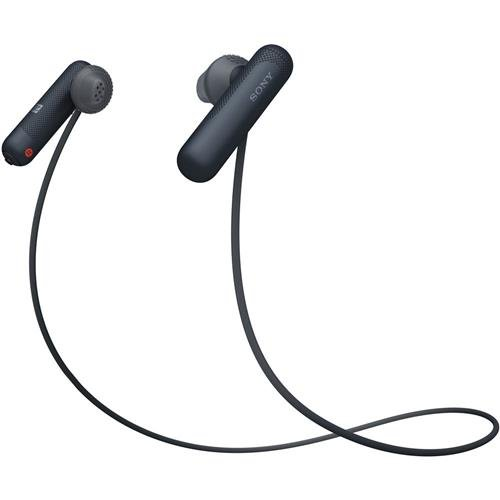 Sony WI-SP500 Wireless in-Ear Sports Headphones, Black (WISP500/B)