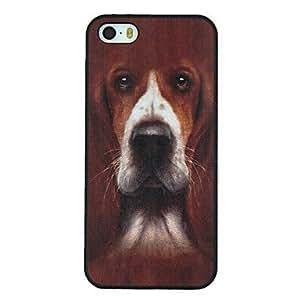 HC- foxhound modelo del perro pc caso duro para el iphone 5 / 5s