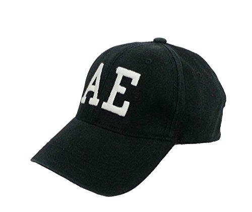 American Eagle Baseball Hat (American Eagle Outfitters Black/White AE Logo Adult Baseball Cap S/M)
