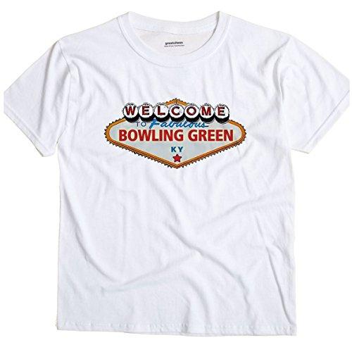 Bowling Green Kentucky KY VEGAS GreatCitees Unisex Souvenir T (Vegas Bowling Shirt)