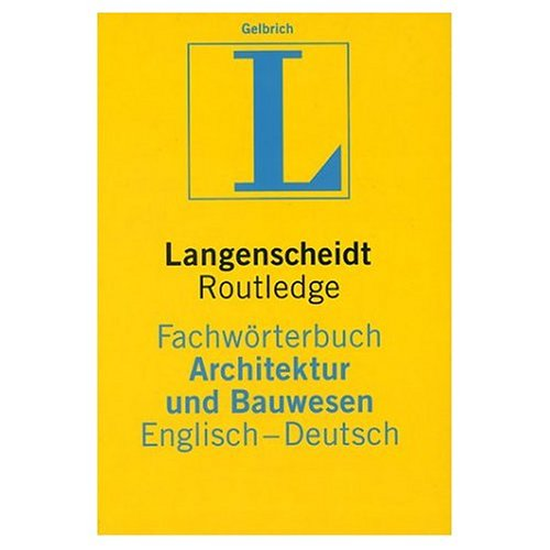 Download English to German Dictionary of Building and Civil Engineering PDF