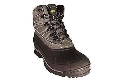 Amazon.com | Zanco Men's Extra Wide Width Waterproof Black