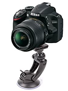 DURAGADGET Soporte Con Ventosa Y Tornillo Superior Perfecto Para La Cámara Nikon D3200