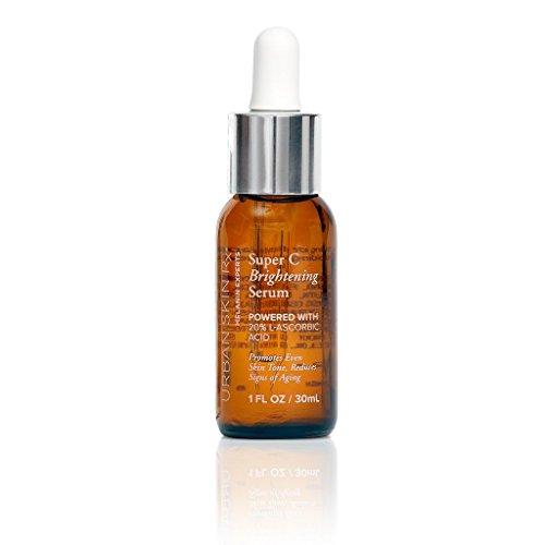 Urban Skin Rx Super C Brightening Serum Vitamin Based, Anti-Aging Serum for Increasing Collagen Production 1 fl - C Rx Vitamin Serum C