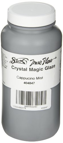 Cappuccino Mint (Sax True Flow Crystal Magic Glaze - 1 Pint - Cappuccino Mint)