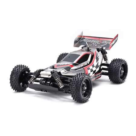 1/10 Plasma Edge II TT-02B 4WD Off-Road Buggy Kit, Black Metallic