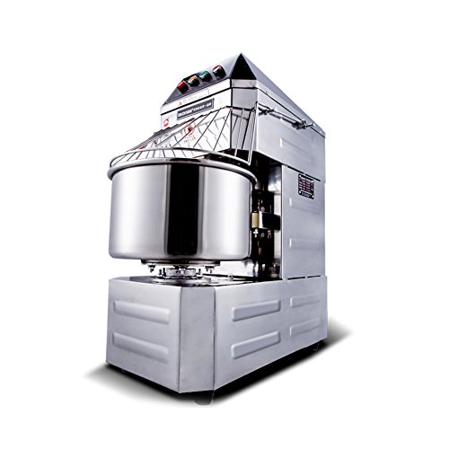 Commercial Stainless Steel Dough Mixer Baking Equipment Dough Kneading Machine Double Speed 20L