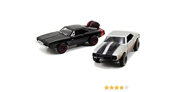 Jada Toys Fast & Furious 1:32 Twin Pack - 67 Chevy Camaro Off ...