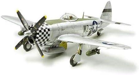 "WWII USAF P-47D THUNDERBOLT /""RAZORBACK/"" TAMIYA 1:72 PLASTIC MODEL AIRPLANE KIT"