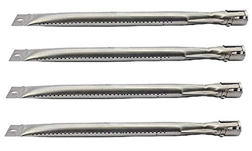 Hongso SBD251 Replacement Parts for Sunbeam,Nexgrill,Grill Master 720-0697 Gas Grill Stainless Steel Grill Burners (4)