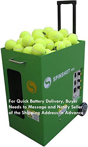 Spinshot Pro Tennis Ball Machine (The Best Model for...