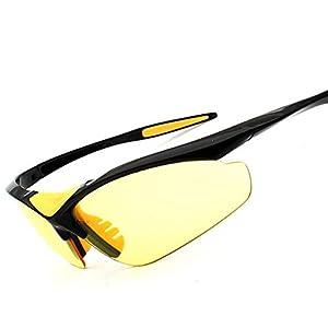 Flank Outdoor Cycling Glasses Bike Bicycle Sunglasses Polarized Sunglasses Eyewear (C)