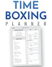 Daily Timeboxing Planner: Daily Scrum, Time Block Journal, Productivity, To-Do List, Time Management (100 Days, A5)
