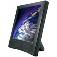 GVISION 15, LCD TFT Touch Monitor with ELO 1515L 5-WIRE Resistive Touchscreen, Desktop POS, Serial, 250 NITS, Speakers, 75MM VESA, Black, PhotoFrame Stand (P/N L15AX-JA-422G)