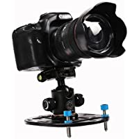 Aoonar Mini Tripod Base Compact Tripod Universal Camera Mount Plate and Versatile Photography Base,Low Angle Shots and Macro Shooting for DSLR Canon Nikon Sony A6000 A7 A7R A9