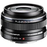 Olympus M.Zuiko 17mm f1.8 (Black) for Olympus and Panasonic Micro 4/3 Cameras (Certified Refurbished)