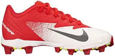 online retailer fd0e5 7b5fc Nike Boy s Vapor Ultrafly Keystone (GS) Baseball Cleat University  Red Bright Crimson