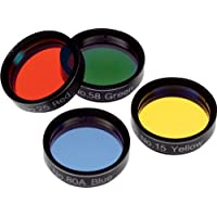 Orion 05514 Basic Set of 1.25-Inch Four Color Filters (Black)