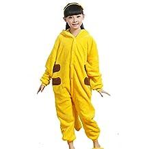 Unisex kids Animal Pajamas Cartoon Sleepwear Onesies Cosplay Homewear