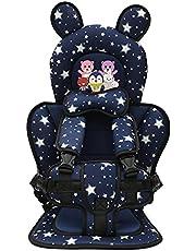 ZTHL Seguridad portátil bebé Asiento niño Asiento de Seguridad sillas para niños Asiento bebé Asiento niño Asiento de Coche Engrosamiento Esponja niños Asiento cojín desamparte rápido