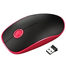Vic Tsing 2.4G Wireless Mouse with Nano Receiver, 24-Month Battery Life, Noiseless and Silent Click with 1600 DPI for PC, Laptop, Computer, and MacBook