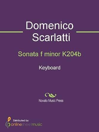 Sonata f minor K204b - Keyboard