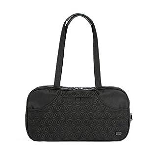 Lug Women's Tugboat Carry-All Bag, Brushed Black Travel Shoulder, One Size