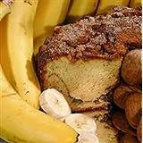 My Grandma BWLGCLN Large- 10 in.- 3.1 lbs Lower Fat Banana Coffee Cake, No Nuts