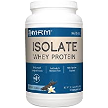 MRM - Whey Protein Isolate, Supports Muscle Building and Recovery (French Vanilla, 1.9 lbs)