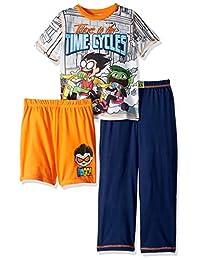 Teen Titans Boys 3 Piece Jersey Pajama Set Pajama Set