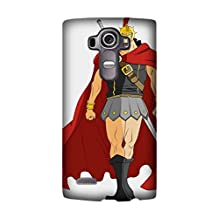 LG G4 Case Pattern Clear TPU One Piece Kyros Back Cover Skin Soft Case for LG G4