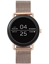 Falster Stainless Steel Mesh Smartwatch, Color: Rose Gold-Tone SKT5002