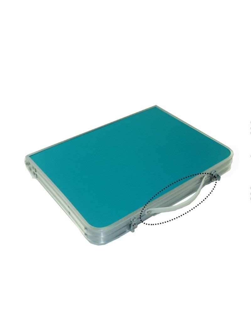SED Mesa pequeña - Tablero de Fibra de Vidrio Impermeable Impermeable Vidrio Cama Plegable Escritorio de la computadora Tablas portátiles Mesa de Aprendizaje Ahorro Espacio Dormitorio Estudiante Fácil Lazy Bed Simple H 6ed29c