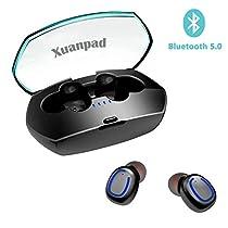 Bluetooth イヤホンbluetooth5.0 hi-fi高音質 2019最新版 ワイヤレスイヤホン 自動ペアリング IPX7防水 完全ワイヤレス イヤホン ブルートゥース イヤホンiPhone/iPad/Android適用