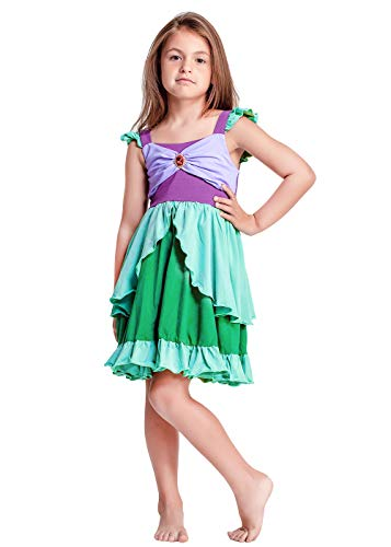 ALIZIWAY Ariel Costume Little Mermaid Princess