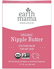 Earth Mama Organic Nipple Butter for Breastfeeding and Dry Skin, 2-Ounce