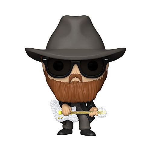Funko- Pop Rocks ZZ Top-Billy Gibbons Figura Coleccionable, Multicolor (41150)